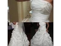 Weddding dress size 10-12