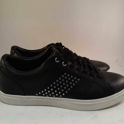 Zara Mens Sneakers Black Lace Up Round Toe Studded Shoes 5351/302/040 10 EUR 44
