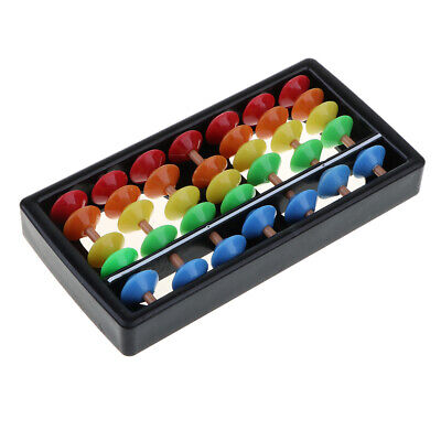 7 Digits Colorful Abacus Soroban Kid's Calculating Math Educational Toy