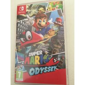 Nintendo switch, super mario odyssey