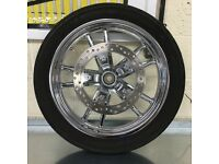 Harley Davidson Dyna Front Wheel, Disc & Caliper