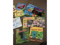 Collins big cat reading programme set PINKB