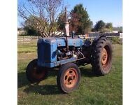 FORDSON MAJOR TRACTOR LIVE DRIVE IN GOOD CONDITION