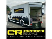 COMPREHENSIVE REMOVALS MAN & VAN HIRE SERVICE - House removals, office moves & house clearances