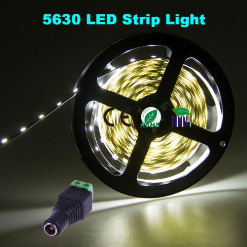 5630 smd led strip light ruban eclairage f te lampe amploue dimmer 12v power dc ebay. Black Bedroom Furniture Sets. Home Design Ideas