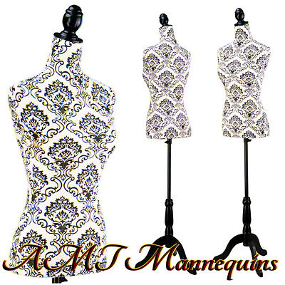 Vintage-style Female Manequin Toros Tripod Stand Mannequin Dressform -l18