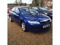 MAZDA 6TS 5DR1999CC PETROL FULL/S/HISTORY BRAND/NEW/MOT JUST/SERVICED READY AND TROUBLE FREE