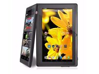 """7"""" Inch Android Tablet 8GB Quad Core 4.4 Dual Camera Bluetooth Wifi Tablet BRAN NEW"""