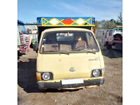 Left hand drive Toyota Hiace LH20 2.2 diesel single wheel 2.5 Ton pick up truck.