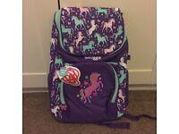 Brand new Girls Smiggle bag/ruck sack (school)