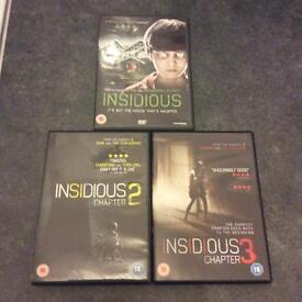 Insidious 1-3 trilogy