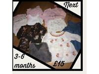 Baby girl bundles - various prices (ted baker, Next etc)