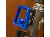 BROMPTON Front Carrier Block Super Lightweight Aluminum BLUE