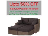 Garden furniture sale now on