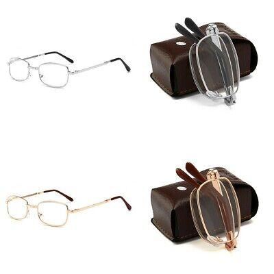 Portable Fashion Folding Reading Glasses Rotation Eyeglass +1.5 +2.0 +2.5 (Folding Eyeglasses)