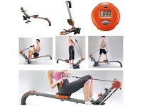 Body sculpture rowing machine, used a handful of times, everything included in the picture