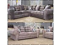 Brand new veinna 5 seater corner sofa or 3 and 2 free delivery 07724052135