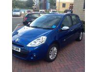 2010 Renault Clio, 1.2 petrol, 58k miles, 11 months MOT, £2150