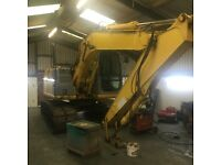 New holland kobelco e145 excavator digger