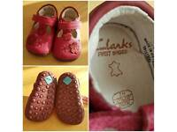 Baby Shoes, various brands & sizes (including size 2, 2H, 3)