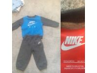 Nike air jogger suit