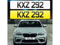 KXZ 292 - Short 3 digit NI Number Plate- Cherished Personal Private Registration plates