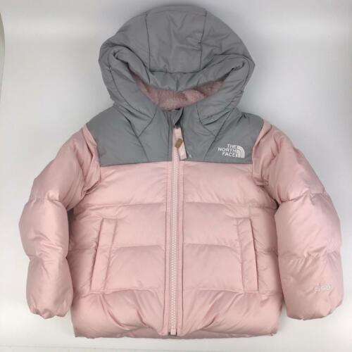 The North Face Toddler Girls Pink Moondoggy 2.0 550 Fill Down Jacket