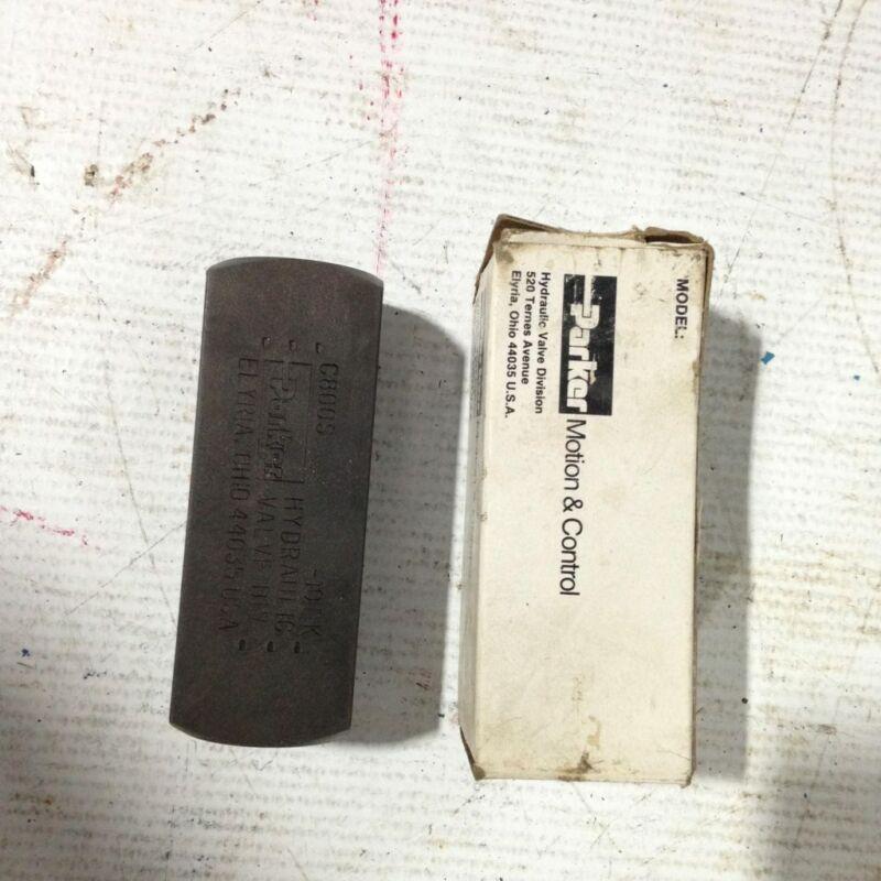 "Parker C800S-10FK 1/2"" FNPT Hydraulic Check Valve 5000PSI 15GPM -NIB"