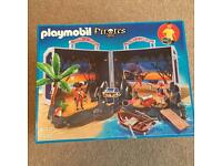 Brand new playmobil pirates sets - including g carry case