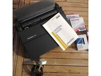 Silver Reed Electric TYPEWRITER EX32 Vintage Excellent Condition Accessories Included