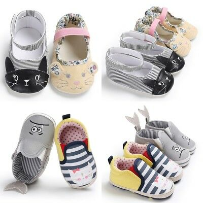 New Cartoon Animal Moccasins Infant Toddler Baby Boy Girl Soft Sole Crib Shoe](Toddler Animals)
