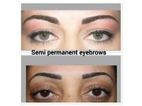 Gumtree offer Microblading £80, Semi permanent makeup eyebrows £90, Individual eyelashes from £40