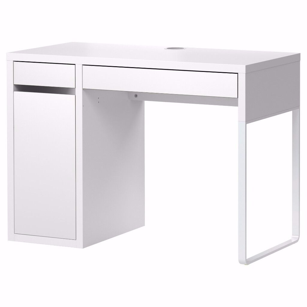 Ikea Micke Office Makeup Vanity Desk White Rrp 60