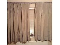 Pair of curtains.