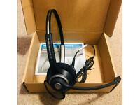 Sennheiser SC 260 Binaural Noise Cancelling Office Headset (Brand New)