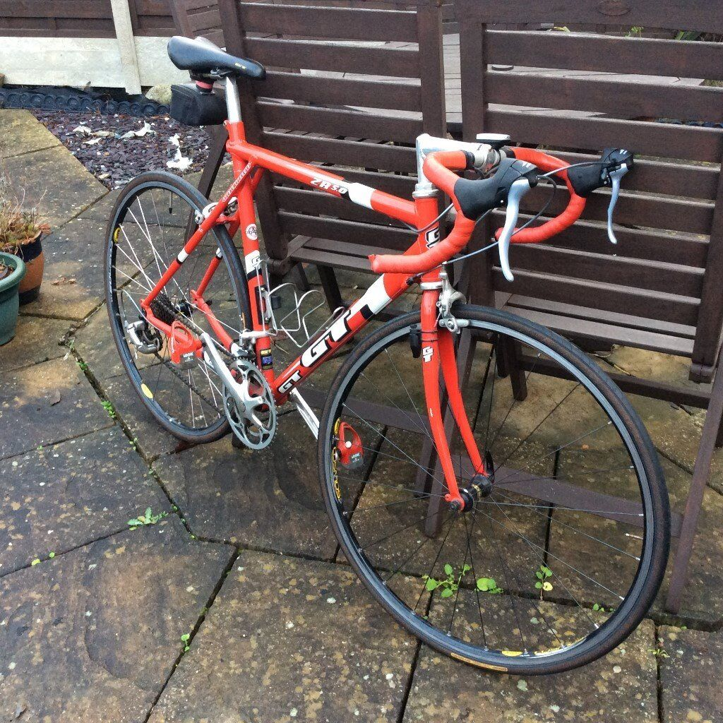 GT ZR 5.0 Road Bike, 2001 model, 54cm frame, many upgraded ...