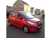 HYUNDAI I10 COMFORT 1.1 LITRE, MOT APRIL 2017, TAX £30, HPI CLEAR, LOW MILEAGE