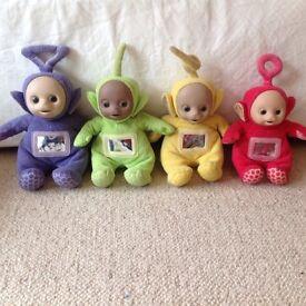 Teletubbies soft toys