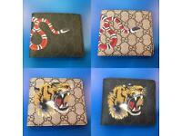 Gucci Snake Wallets Tiger wallets Gucci LV cardholders Louis Vuitton Card holder london Cheap North