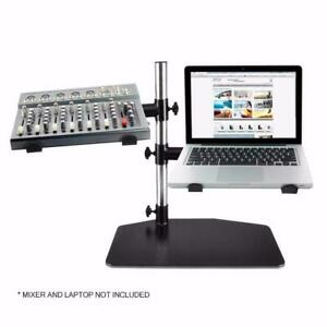 PYLE PLPTS45 Dual Arm Universal DJ Laptop,Mixer or Studio Equipment Holder Stand Canada Preview