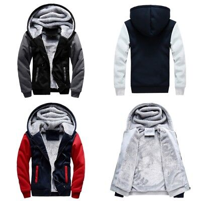 Winter Mens Padded Hooded Outwear Male Outdoor Anti Wind Jacket Coat Clothes 5XL