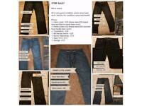 Mens Designer Clothes (some never worn - all in very good condition)