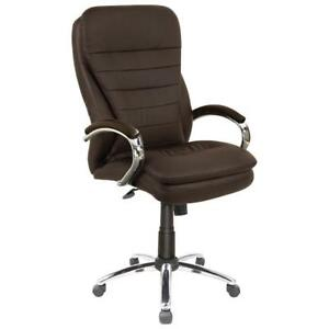 Picket House FFAA130SW Aaron Executive Office Chair Mahogany (New other)