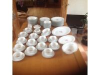 Very collectable Noritake Roanne 5794 China dinner set and teaset