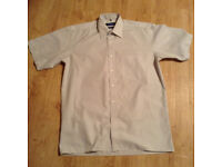 Short sleeve shirt - Men collar size 16 - large