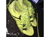 adidas x 15.1 luminous yellow (used)