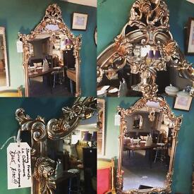 Stunning French Le Debonnaire Large Mirror