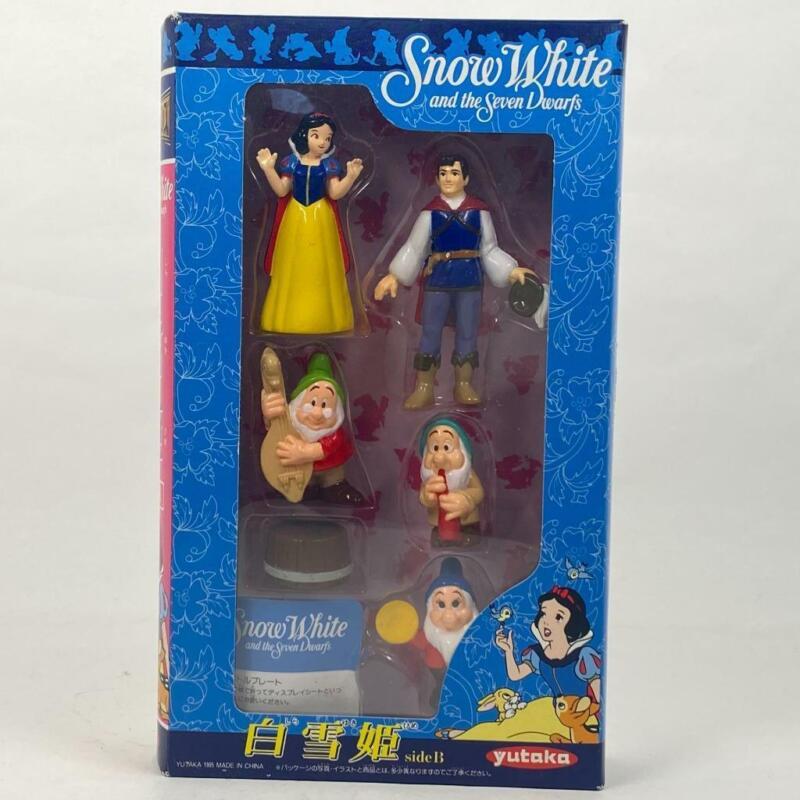Disney Snow White and the Seven Dwarfs Movie Friends #4 Mini Figure side B Japan