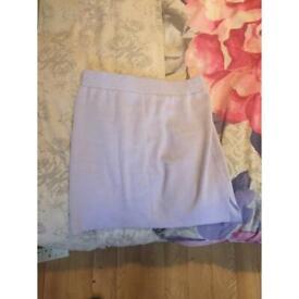 Lilac fluffy skirt