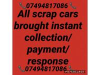 Scrap car ❓Need Gone ASAP❓We can collect same day❗️